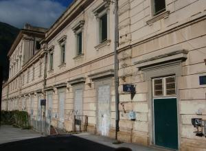 This massive station at St. Dalmazzo di Tenda was built when the village was still in Italian territory (before 1947).